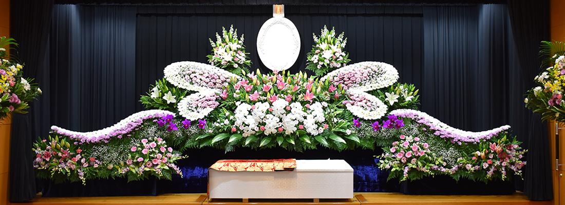 イメージ:元生花店だから提供できる最高品質の生花祭壇