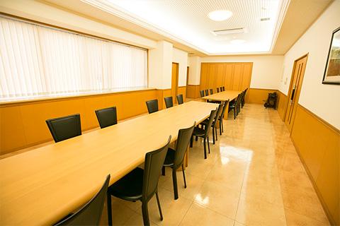 写真:法事室(会食ルーム)