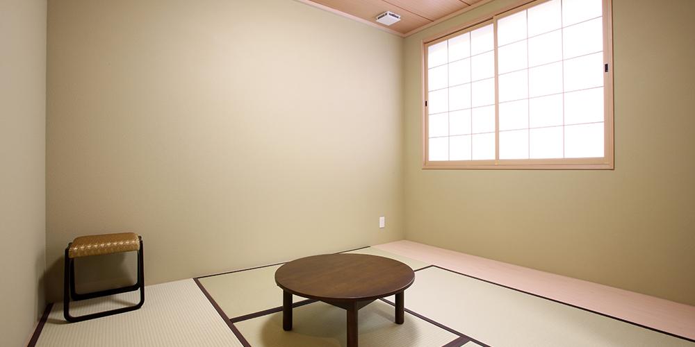 写真:控室(和室)