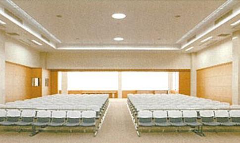 写真:あおやぎ楠会館 3階 大セレモニーホール