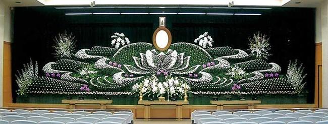 写真:社葬祭壇1