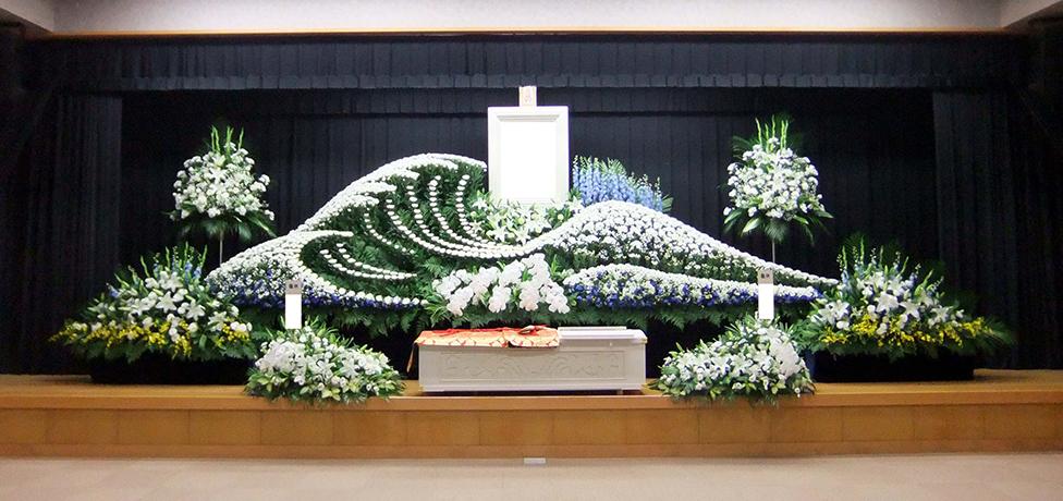 写真:生花祭壇11