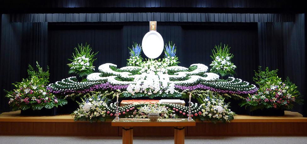 写真:生花祭壇12