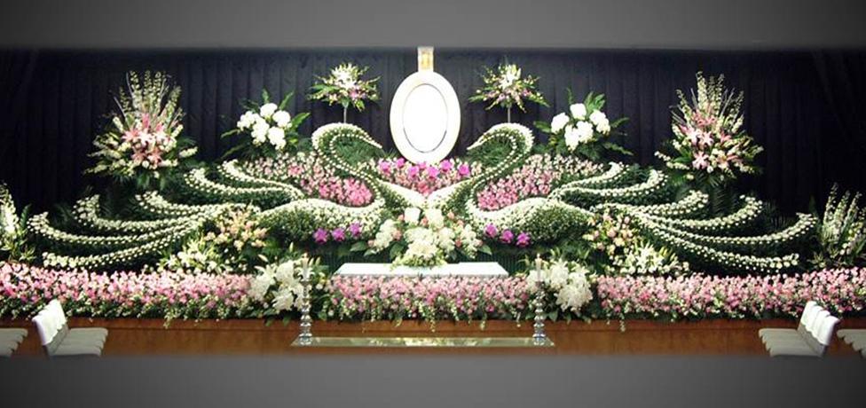 写真:生花祭壇15