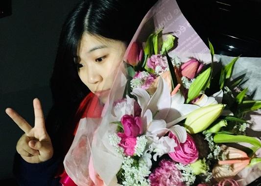イメージ:お花と共に…