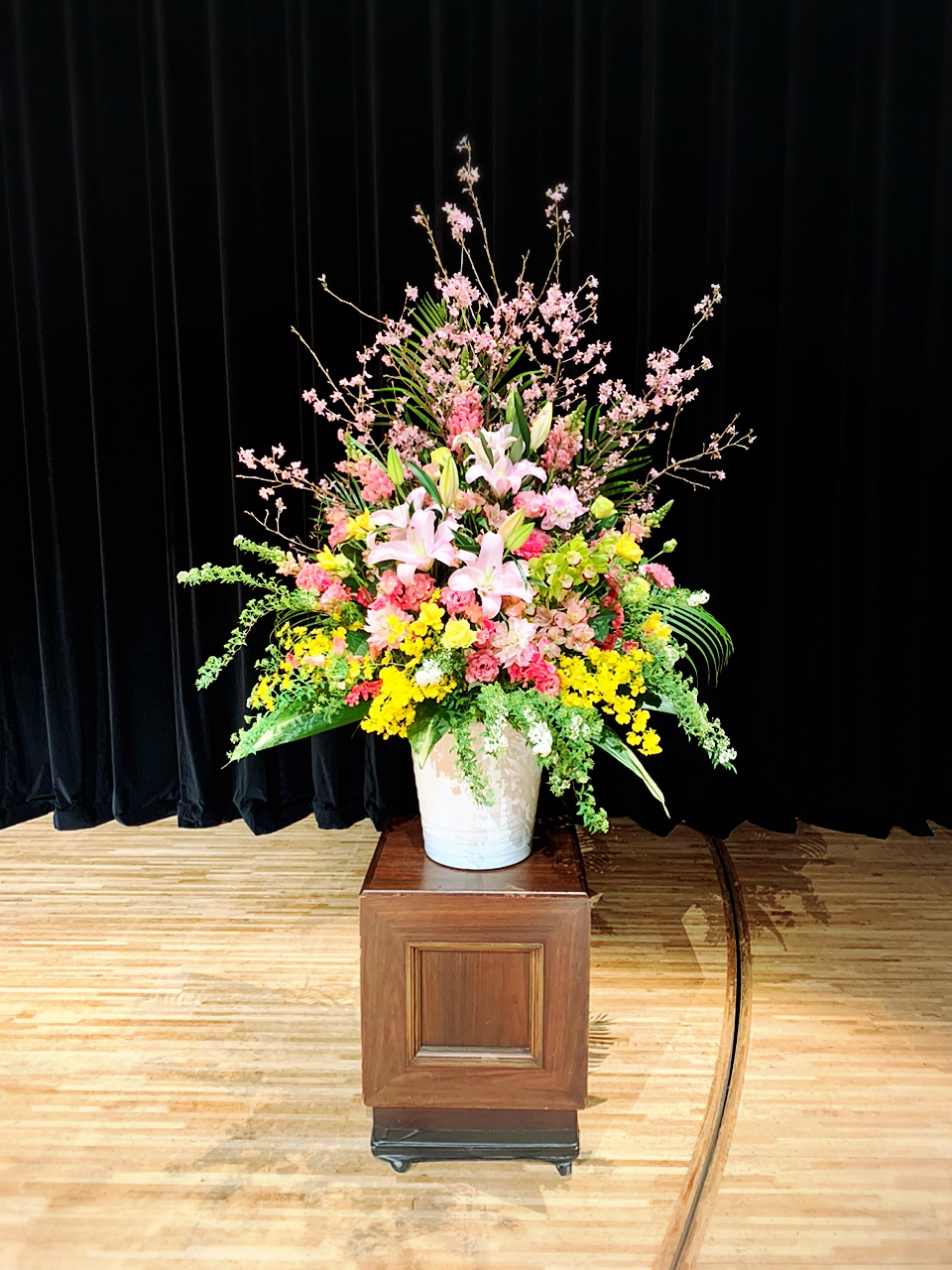 イメージ:卒業式装花