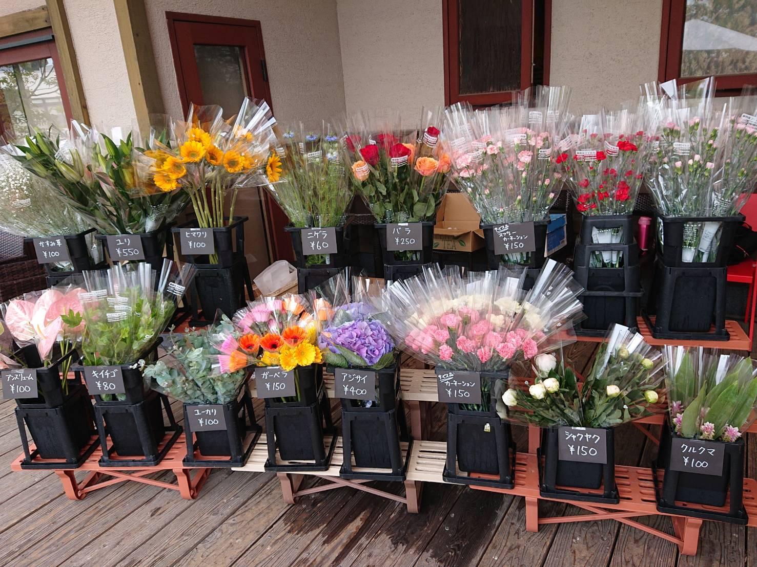 イメージ:なでしこ会館地域移動花販売