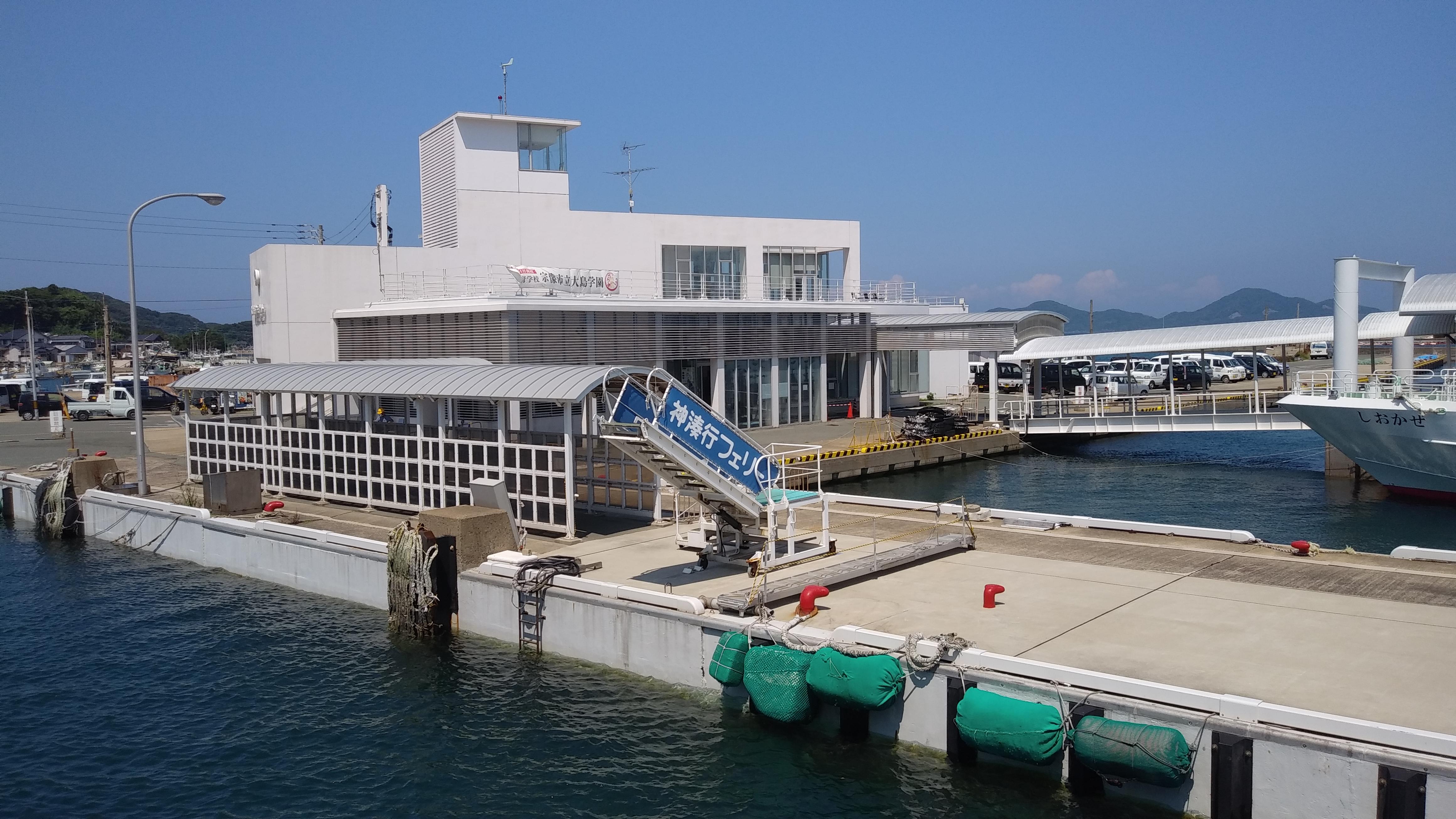 イメージ:大島へ